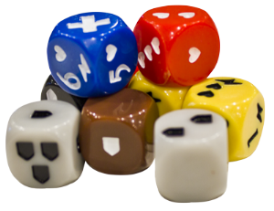 Descent : Journeys in the Dark (Second Edition) - Dice Set